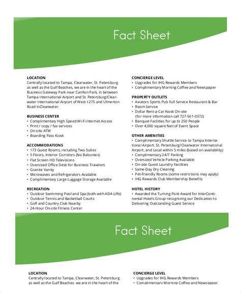 write fact sheet facebookthesiswebfccom