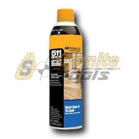 miracle sealants 511 spray on grout sealer usa granite tools
