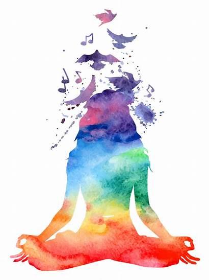 Chakra Transparent Meditation Yoga Pose Chakras Format