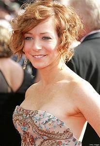 Celebrity Hairstyles Alyson Hannigan Short Haircut Gold