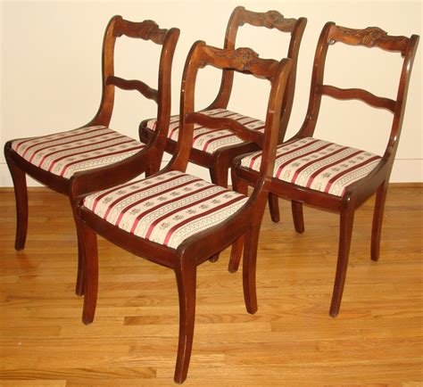 Antique Dining Chairs Ebay by Duncan Phyfe Dining Room Set Buffet 2 Drawers 2 Doors 1