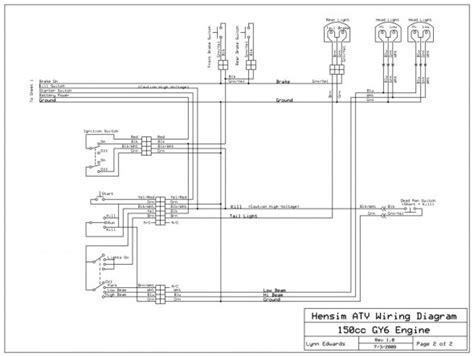 Taotao Scooter Wiring Diagram
