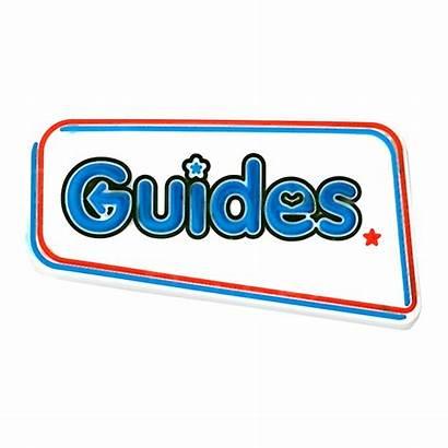 Guide Badge Guides Girlguiding Pvc Badges 1st