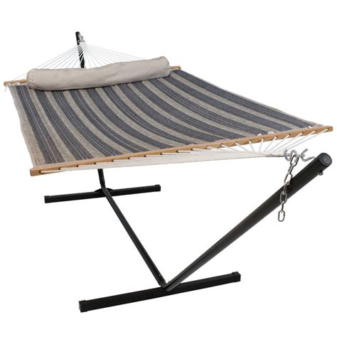 10 Foot Hammock by Sunnydaze Decor 10 3 4 Ft Quilted 2 Person Hammock With