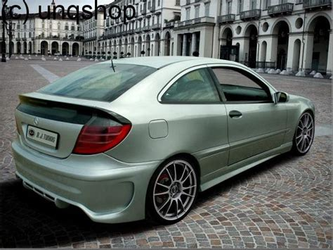 mercedes w203 coupe side skirts missile mercedes c w203 coupe
