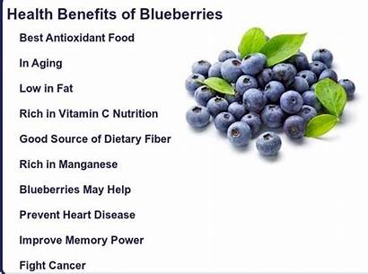 Blueberry Benefits Blueberries Health Heart Vegan Breakfast