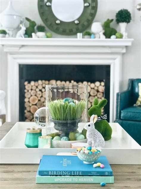 easy easter decorating  bright cheerful spring colors