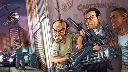 Rockstar Theft Grand North Wallpapers Gta Mobile