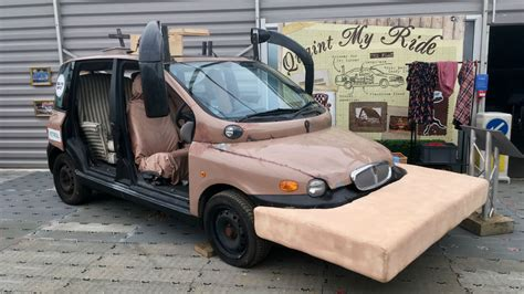 fiat multipla top gear in pictures the wackiest top gear challenge cars