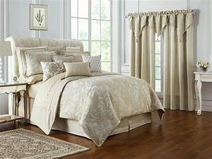 Annalise, Gold, By, Waterford, Luxury, Bedding