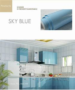 Pearl white diy decorative film pvc self adhesive wall for Kitchen colors with white cabinets with qc passed sticker