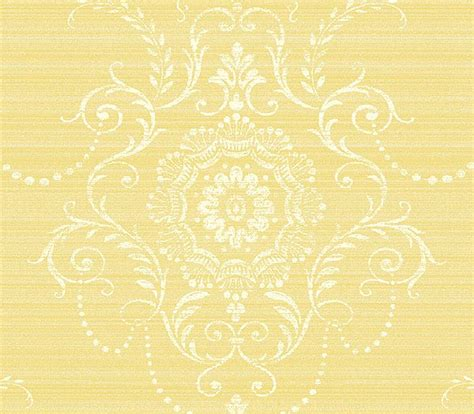 yellow damask wallpaper gallery