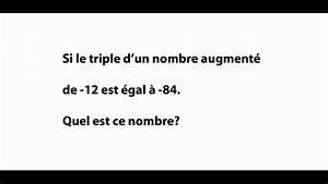 Exercice D U0026 39 Alg U00e8bre Du Secondaire