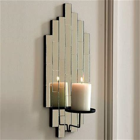 shimmer mirror sconce west elm