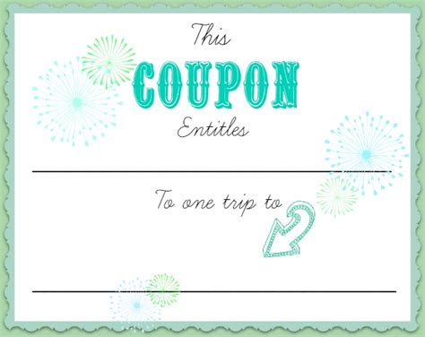 Create A Coupon Template Free by Make A Coupon Template Pertamini Co