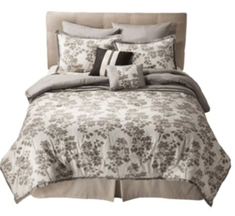 Target Bed Spreads by Target Flocked 8 Bedding Set On Clearance For 39
