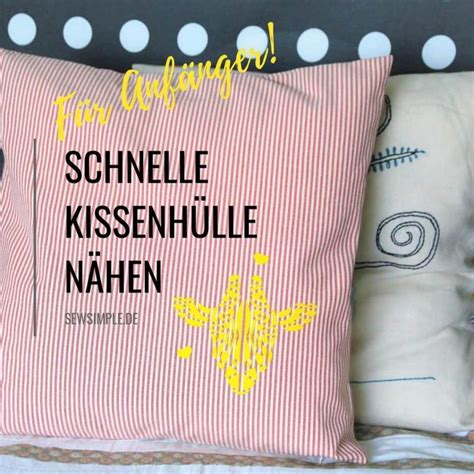 Kissenhülle Mit Reißverschluss Nähen by Kissenh 252 Lle N 228 Hen Mit Rei 223 Verschluss Wiezu