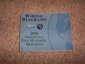 2006 Mercury Montego Electrical Wiring Diagram Manual