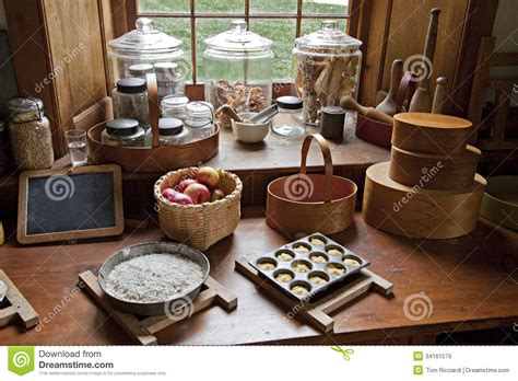 country kitchen treats fashioned kitchen stock image image of traditional 6058