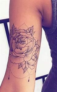Tattoos Frauen Arm : 50 beautiful rose tattoo ideas tattoos ~ Frokenaadalensverden.com Haus und Dekorationen