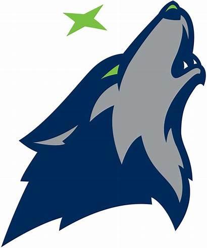 Timberwolves Minnesota Logos Alternate Clipart Sportslogos Clip
