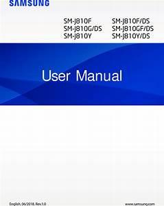 Samsung Galaxy J8 Manual