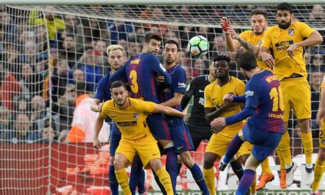 Barcelona vs Atletico Madrid, RESULT | Daily Mail Online