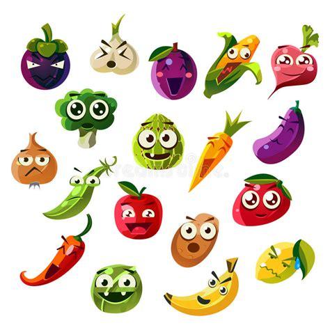 grupo vegetal de ands emoji  fruto ilustracao  vetor