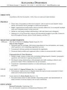 resume for a retail sales position resume for sales and client relations susan ireland resumes