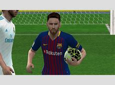 PES 2018 PS2 Real Madrid vs Barcelona in New Kits