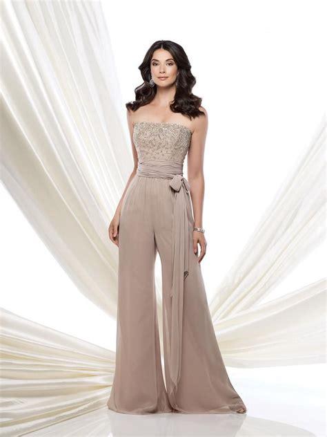 Aliexpress.com  Buy Mother of Bride Pant Suit Chiffon Semi Formal Wear Jumpsuit 2015 Sequins ...