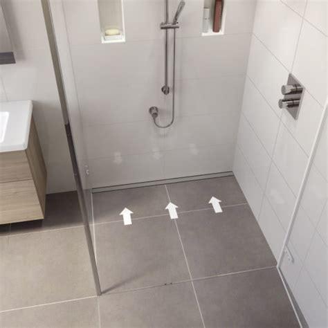 Dusche Mit Ablaufrinne by Vorteile Einer Bodengleichen Dusche Easy Drain