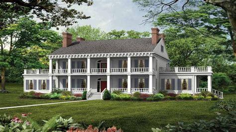 Southern Plantation Style House Plans Old Southern