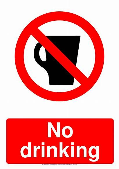 Drinking Sign Prohibition Signs Drink Alcohol Allowed