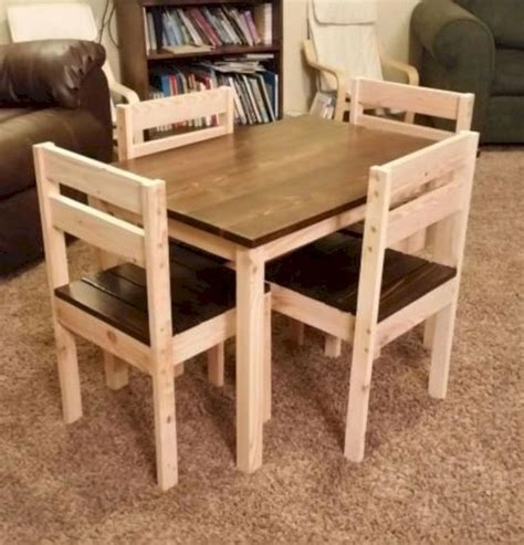 ideas    diy farmhouse kids table kids table