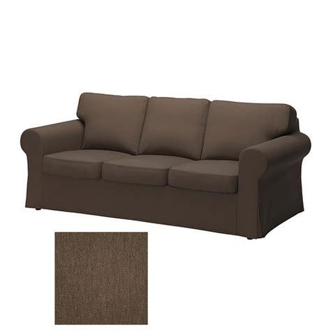 sofa cover ikea ikea ektorp 3 seat sofa slipcover cover jonsboda brown