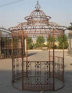 Pavillon Garten Metall : pavillon crown metall rankhilfe pavillion rund eisen gazebo garten pergola ebay ~ Sanjose-hotels-ca.com Haus und Dekorationen