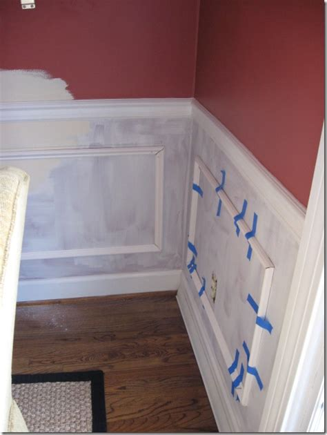 install picture frame molding southern hospitality
