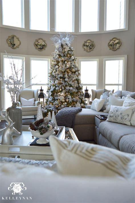 ideas  christmas living rooms  pinterest