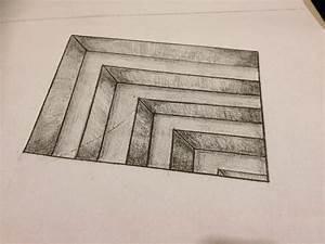 Simple Pencil 3D Drawings For Beginners - DRAWING ART IDEAS
