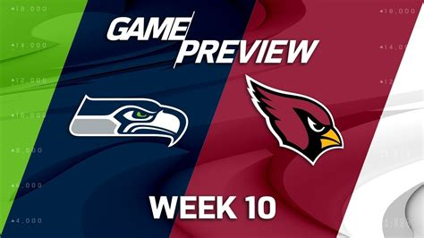 Seattle Seahawks Vs Arizona Cardinals  Nfl Week 10 Game