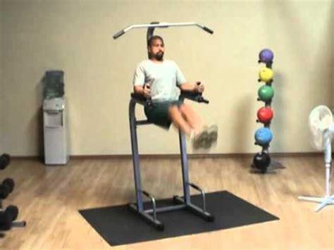 powerline vertical knee raise chin dip pvkc83x