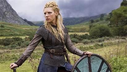 Lagertha Vikings Winnick Katheryn Wallpapers Donne Cast