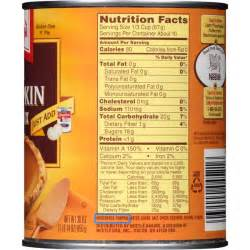 Libbys Pumpkin Pie Mix Nutrition Information by Canned Pumpkin Isn T Actually Pumpkin Snopes Com