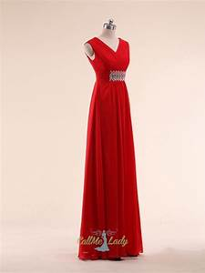 simple straps red maxi dresses bridesmaid dresses With red wedding guest dresses