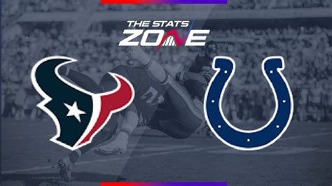 nfl houston texans  indianapolis colts preview pick  stats zone