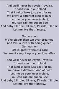 """Lorde. """"Royals"""". Page 2   Song Lyrics Four   Pinterest ..."""