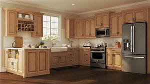 hampton wall kitchen cabinets in medium oak 2030