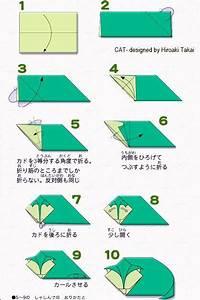 Simple Origami Cat