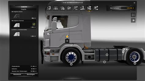 ets 2 black bullbar for scania r2009 v 2 5 tools mod f 252 r eurotruck simulator 2